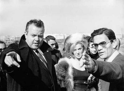 Orson Welles & Pier Paolo Pasolini