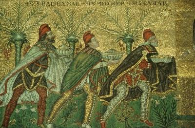 Nave mosaic, c. 556-69