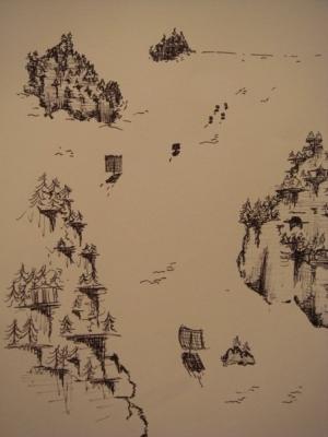 or, Isokinetic Drawings (detail)